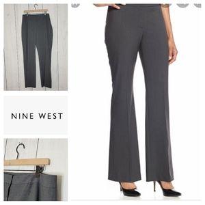 Nine West Modern Fit grey dress slacks NWT